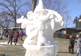Lake Geneva Winterfest – Kite Flying